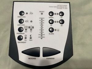 Optec Stereo Optical 6500p Vision Tester Controller Good Condition