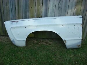 1965 Plymouth Fury C body Left Front Fender Very Straight Solid