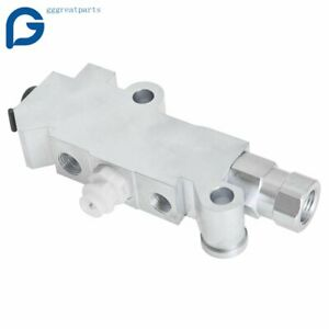For Gm Disc Drum Brake Aluminum Proportioning Valve Pv2 Universal Usa