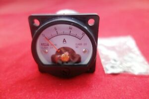 1pc Dc 0 15a Analog Ammeter Panel Amp Current Meter So45 Cutout 45mm