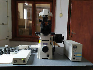 Nikon Eclipse Te2000 u Inverted Fluorescence Microscope