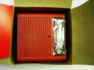 Wheelock As 121575w fr Fire Alarm Audible Strobe