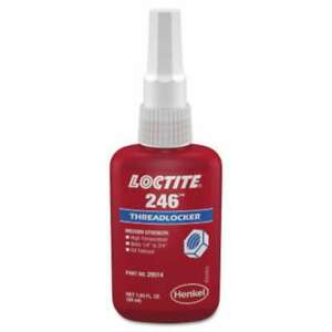 Loctite 246 Threadlockers Medium Strength high Temperature 079340295148