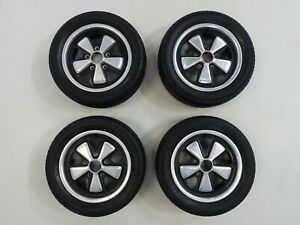 Set Of Four 6 By 15 Fuchs Alloy Wheels