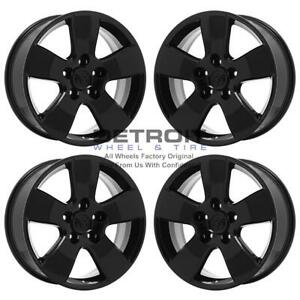 20 Dodge Ram 1500 Gloss Black Exchange Wheels Rims Factory Oem 2363 2002 2018