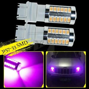 Yaagoo 3157 Purple Led Lamp T25 33smd 5730 Chip Bulbs