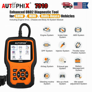 For Bmw Abs Airbag Battery Scanner Auto Obd Obd2 Full Function Diagnostic Tool