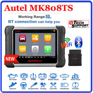 2020new Autel Mk808ts Car Diagnostic Scan Tool Tpms Programming Obd Code Reader