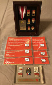 McDonalds Coca Cola Olympics Advertising Commemorative Pins  Paperweight + More
