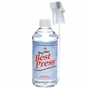 Mary Ellen Products Best Press Spray Starch Scent Free 16oz Quilting Fabric $16.99