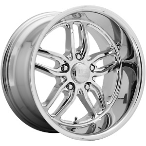 Us Mag 1pc Cten 18x9 5 5x120 65 Chrome Plated 13 Mm Wheel