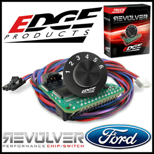 Edge Revolver Performance Chip Switch 1999 2001 Ford Super Duty 7 3l Automatic