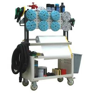 Car Body Repair Trolly Cart For Polisher Tools