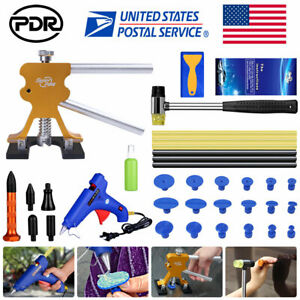 Pdr Dent Puller Lifter Diy Car Body Tools Kits Paintless Hail Removal Tap W Glue