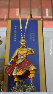 Bronze Painting Qitian Dasheng Sun Wukong Journey To The West Monkey King Statue