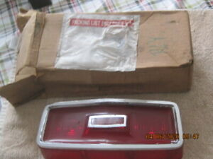 Used 1964 Plymouth Savoy Right Hand Tail Lamp Lens Part Number 24995212