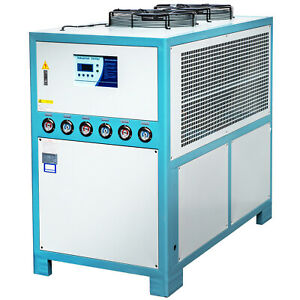 15 Ton Air cooled Industrial Chiller Smart Lcd 200l Water Tank Stainless Steel