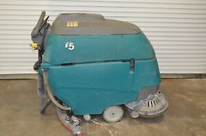 Tennant T5 28 Battery powered Walk behind Floor Scrubber With 357 Hours