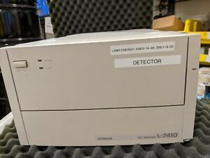 Hitachi L 7410 Hplc Uv Detector Chromatography Lc Power