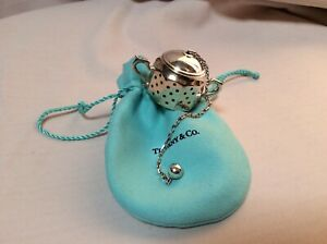 Tiffany Co Sterling Silver Tea Ball Strainer Infuser