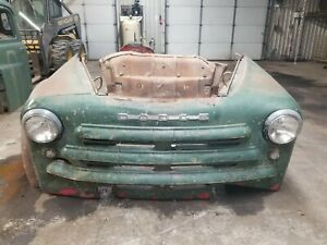 1948 1949 1950 Dodge Truck Front Clip Shipping Included See Description