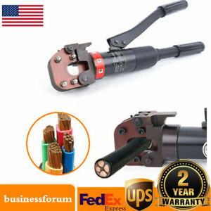 Hydraulic Cable Cutter 6t Cutting Tool steel wire Rope Copper aluminum Usa Sale