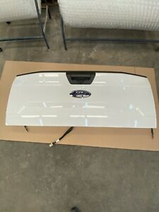 2018 2019 2020 White Ford F150 F 150 Truck Tailgate Oem Nto Camera Lid Nice