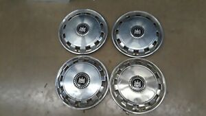 1977 1979 Mercury Grand Marquis Set Of 4 15 Hubcaps Hub Caps Cap Wheel Covers