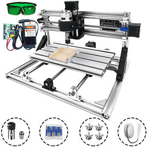 Cnc 3018 Mini Laser Engraver Pcb Woodworking Milling Machine 5500mw Laser Moudle