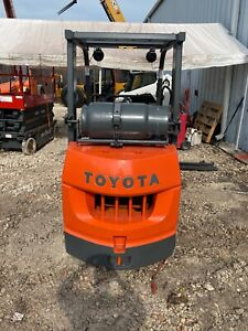 2006 Toyota 7fgcu25 Cushion Tire Forklift