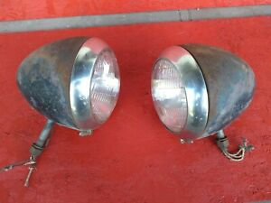 1930s 37 38 39 1940s Ford Truck Sealed Beam Headlights