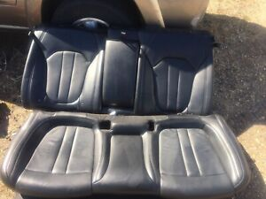 Chrysler 200 2015 2016 2017 Seats Back Passenger Leather Rear Black Cheapest Oem