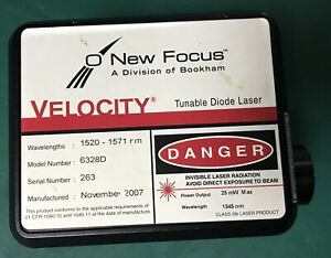 New Focus Tunable Diode Laser Optics As is