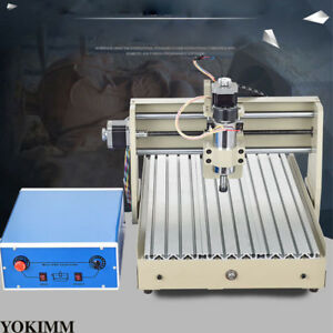 3axis Cnc 3040z Router Engraving Drill Mill Cutter 3d Machine Usb W Control Box