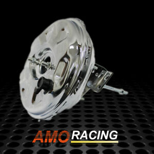 11 Chrome Power Brake Booster Disc Brakes Fits Chevy Gm A f x Body Chevelle