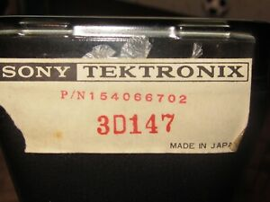 Sony tektronix 3d 147 Rectangular Crt O scope Tube Nos W Telematic Harness
