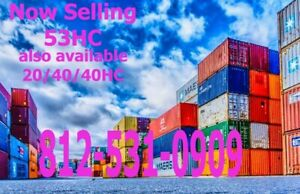 53 High Cube Cargo Container Shipping Container Storage Unit Chigago Il
