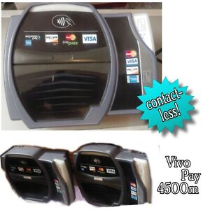 Vivotech Vivopay 4500m Contactless Card Reader For Pos Terminal Tap Or Swipe