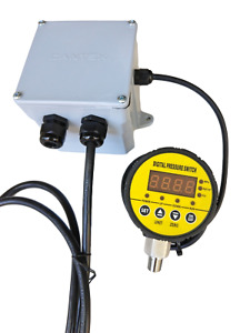 Pump Control For 220 Vac Pump With Digital Pressure Switch Fully Adjustable