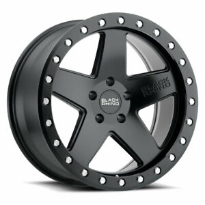 Black Rhino Crawler 17x9 5 5x139 7 0mm Matte Black 4 Wheels Free Lug Nuts