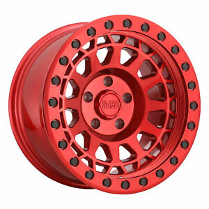 Black Rhino Primm 17x9 5x139 7 0mm Candy Red 4 Wheels Free Lug Nuts