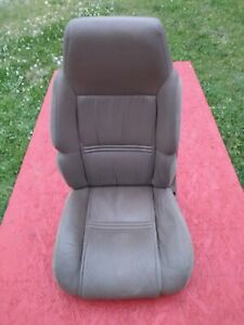 1991 92 93 94 Bravada S10 Blazer Jimmy Beige Leather Driver s Bucket Seat