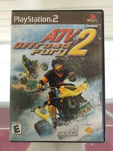 ATV Offroad Fury 2 - PlayStation 2 (PS2) Game (CLEANED and TESTED load to menu)