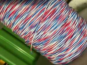 22 Awg Stranded Hookup Lead Wire 300v Multi color By The Foot Many Colors