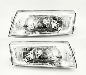 Head Light Lamps Lh Rh Replacment For Mitsubishi Lancer Ck 4 Year 1998 2000