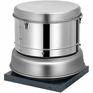 Restaurant Hood Upblast Exhaust Fan 200cfm 8 6 Wheel 18 Base