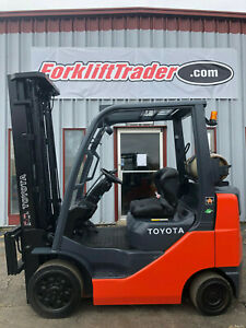 Toyota 8fgcu25 Cushion Tire 5000lb Forklift Lifttruck Hilo