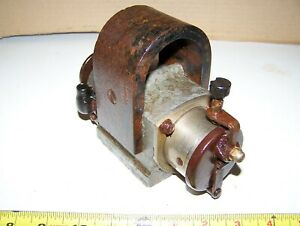 Old Bosch U1 Hit Miss Gas Engine Garden Tractor Motorcycle Oiler Steam Hot
