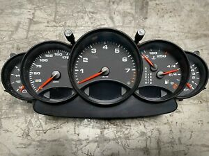 Porsche 911 996 Instrument Gauge Cluster Assembly 99664110401 Tiptronic