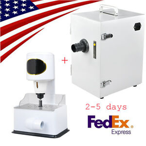 Us Dental Digital Single Row Dust Collector Vacuum Cleaner Arch Trimmer Trimming